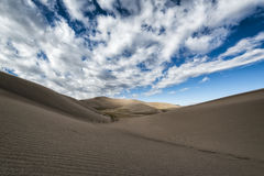 Dunes de sable grandes stationnement national, le Colorado, Etats-Unis images libres de droits