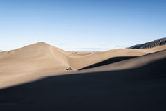 Dunes de sable grandes stationnement national, le Colorado, Etats-Unis photographie stock libre de droits