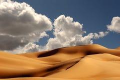 Dunes de sable impériales Photos libres de droits