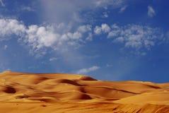 Dunes de sable impériales Images libres de droits