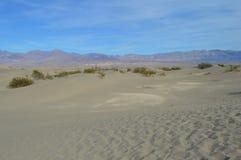 Dunes de sable de mesquite Death Valley la Californie du sud Photos stock