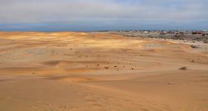 Dunes de sable namibiennes Photo libre de droits