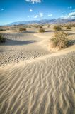 Dunes de sable naturelles de Death Valley Photo stock
