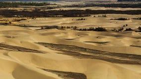 Dunes de sable sur le fond, Leh Ladakh, Himalaya, Jammu et Photos libres de droits