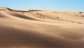 Dunes de sable - tir large photo stock