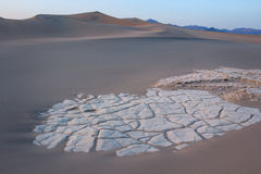 Dunes in Death valley Royalty Free Stock Photography