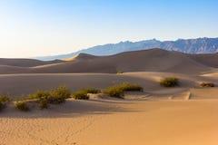 Dunes in Death valley Stock Photos