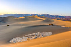 Dunes in Death valley Stock Photography