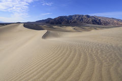 Dunes in Death Valley Royalty Free Stock Photos