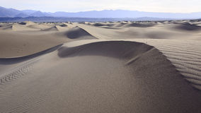 Dunes in Death Valley Royalty Free Stock Images