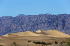 Dunes in death valley national park, California, usa Stock Photography