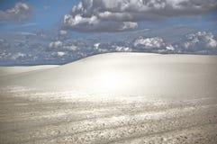 Dunes des sables blancs Photographie stock libre de droits