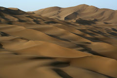 Dunes in desert Royalty Free Stock Photography