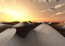 Dunes and desert Stock Photos