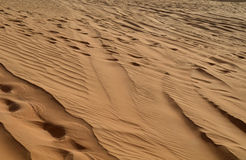 The dunes in the desert, Dubai Stock Photos