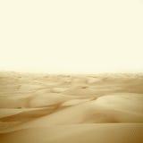 Dunes in the desert Royalty Free Stock Photos