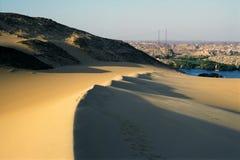 Dunes du désert Photo libre de droits