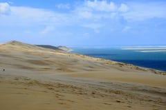 Dunes du Pilat stockfotografie