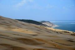 Dunes du Pilat lizenzfreies stockbild