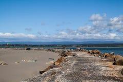 Dunes du Samoa dans l'Eureka la Californie Photographie stock libre de droits