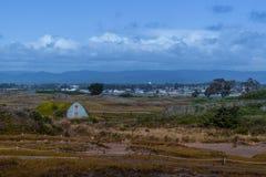 Dunes du Samoa dans l'Eureka la Californie Photos libres de droits