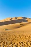 Dunes of Erg Chebbi at Morocco Stock Photography