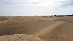 Dunes Espagne de Maspalomas Image stock