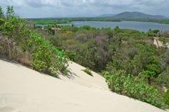 Dunes et lagunes Photo libre de droits