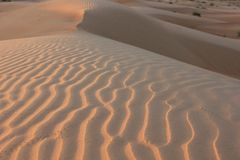 Dunes Geometry Royalty Free Stock Photography