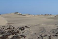 Dunes in Gran Canaria Stock Photo
