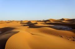 Dunes, Hamada du Draa, Morocco Royalty Free Stock Photo