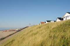 Dunes in Holland. Zandvoort. Near the beach Royalty Free Stock Photography