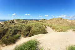 Dunes at the Irish Sea Stock Photos