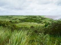 Dunes on the island of Ameland Royalty Free Stock Photography