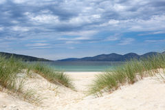Dunes on the Isle of Harris Royalty Free Stock Image