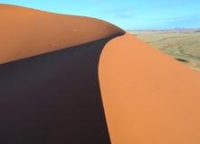 Dunes of Kalahari in Namibia Africa royalty free stock photos