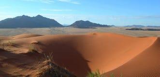 Dunes of Kalahari in Namibia Africa Royalty Free Stock Images