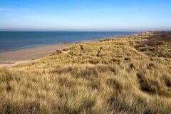 Dunes à la côte Images stock