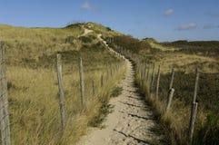 Dunes of Le Touquet Stock Image