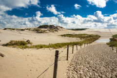 Dunes in Leba - Poland Royalty Free Stock Images