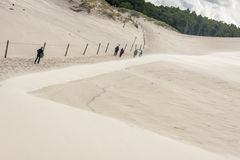 Dunes - Leba, Poland Royalty Free Stock Images