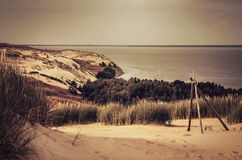 Dunes in Lithuania Royalty Free Stock Images