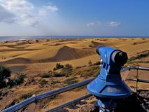 Dunes of Maspalomas Royalty Free Stock Image