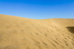 Dunes of Maspalomas Stock Photography
