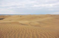 Dunes of Maspalomas, Gran Canaria Stock Photos