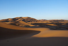 Dunes Merzouga Royalty Free Stock Photos
