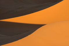 Dunes in Moroccan desert Royalty Free Stock Photos