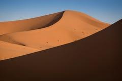 Dunes, Morocco, Sahara Desert Royalty Free Stock Image