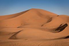 Dunes, Morocco, Sahara Desert Stock Image