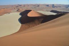 Dunes in Namib desert, Namibia Stock Image